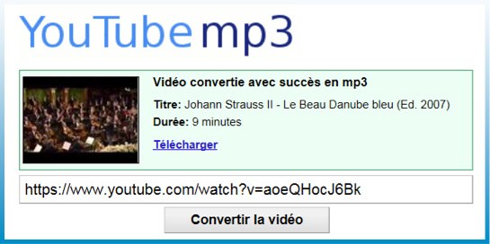 bleu video youtube