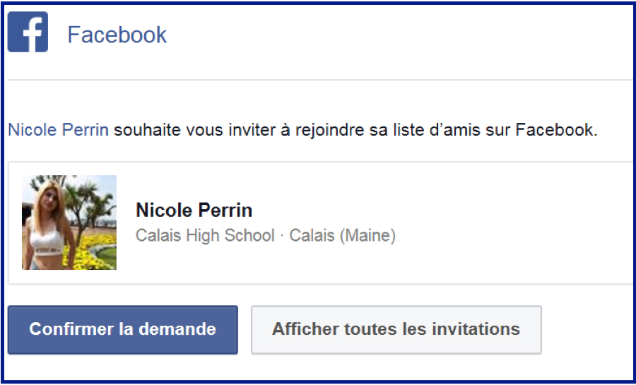 On se rencontre sur facebook