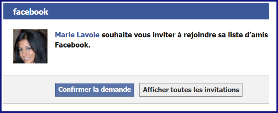 Application demande de rencontre sur facebook